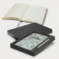 Marble Notebook and Pen Gift Set image