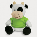 Cow Plush Toy+Bright Green