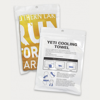 Yeti Premium Cooling Towel Full Colour (Pouch)
